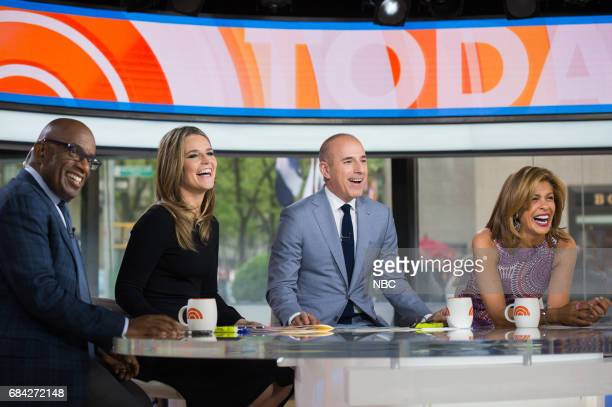 Al Roker Savannah Guthrie Matt Lauer and Hoda Kotb on Thursday May 11 2017