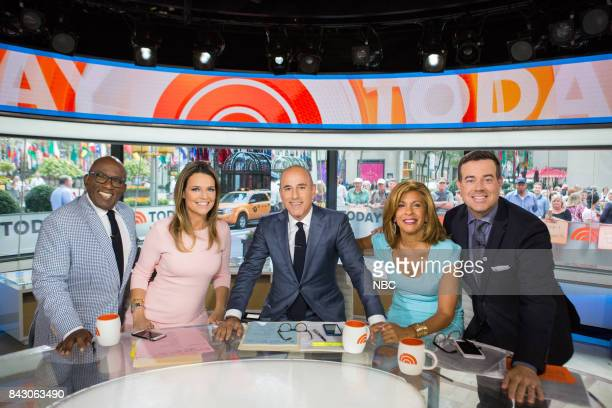 Al Roker Savannah Guthrie Matt Lauer Hoda Kotb and Carson Daly on Monday September 5 2017