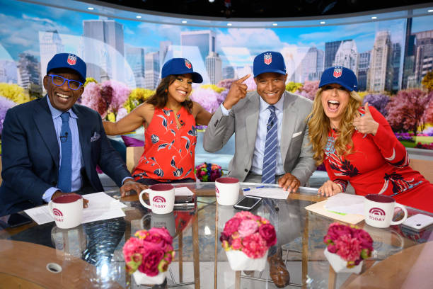 "NY: NBC's ""TODAY"" - Willie Geist, Bobbie Thomas, Nicole Byer, Jacques Torres, Dave Zinczenko, Jared Fried"