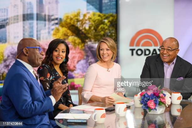 Al Roker Sheinelle Jones Dylan Dreyer and Mike Tirico on Monday April 15 2019
