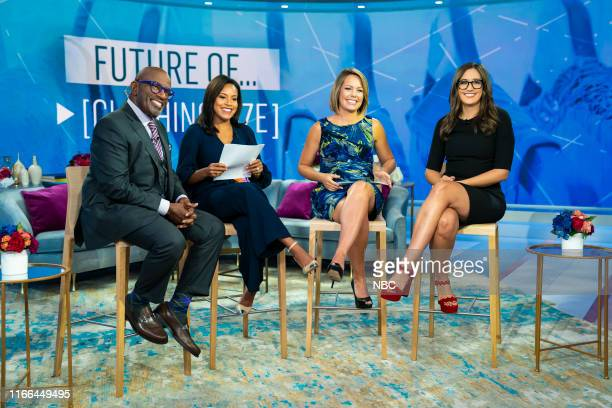 Al Roker Sheinelle Jones Dylan Dreyer and Savannah Sellers and on Tuesday September 3 2019