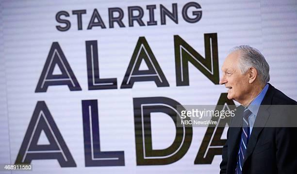 Alan Alda appears on NBC News' Today show