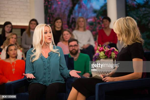 Alana Evans and Megyn Kelly on Tuesday January 16 2018