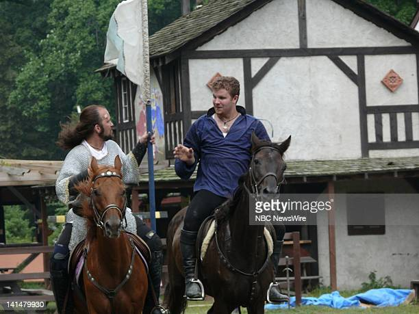 Alen O'Hara As Robert Dudley, Master Of Horse And Nick Freely As Sir Guy DeGuisborne -- The New York Renaissance Faire in Tuxedo, NY brings the past...