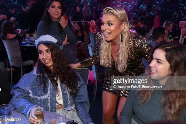 Alessia Cara and Tanya Rad pose during the 2019 E People's Choice Awards held at the Barker Hangar on November 10 2019 NUP_188993