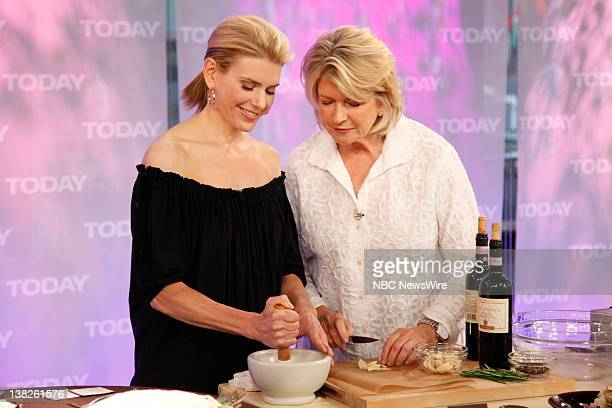 Alexis Stewart Martha Stewart Martha Stewart and her daughter Alexis cook up delicious recipes on NBC News' Today