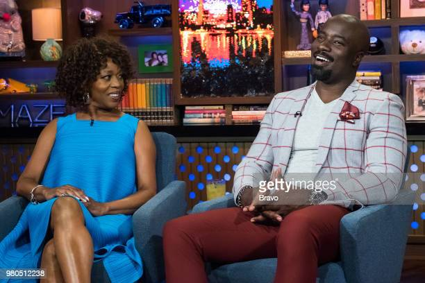 Alfre Woodard and Mike Colter