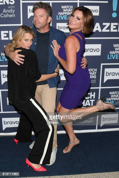 Ali Wentworth Dave Holmes and Luann D'Agostino