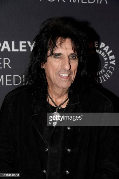 Alice Cooper at the Paley Center for Media in New York on Monday February 26 2018