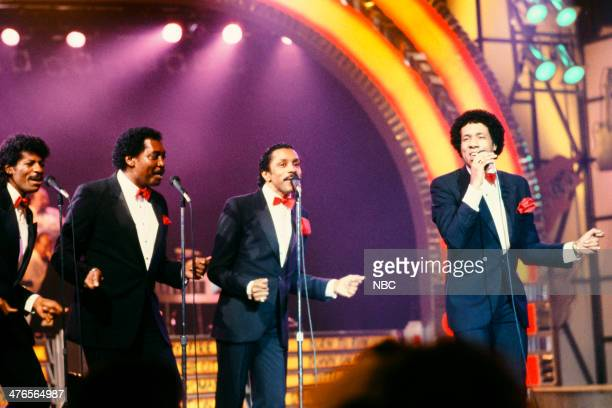 ROCK 'N' ROLL Pictured AliOllie Woodson Otis Williams Ron Tyson Richard Street of the Temptations