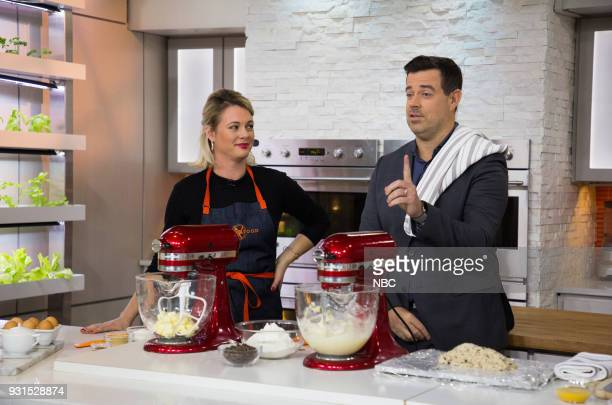 Alison Roman and Carson Daly on Tuesday March 13 2018
