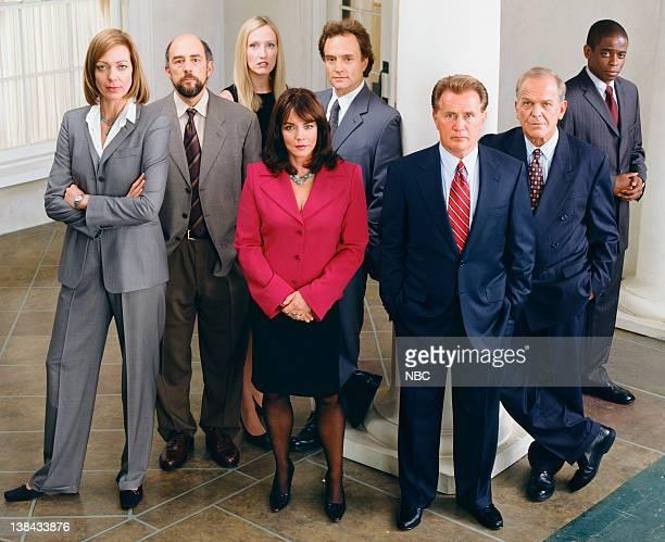 Allison Janney as Claudia Jean 'CJ' Cregg Richard Schiff as Toby Ziegler Janel Moloney as Donna Moss Bradley Whitford as Josh Lyman Stockard Channing...