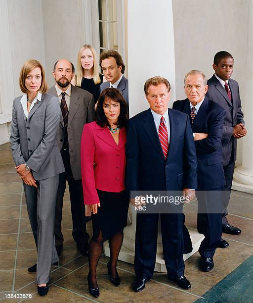 Allison Janney as Claudia Jean 'CJ' Cregg Richard Schiff as Toby Ziegler Janel Moloney as Donna Moss Bradley Whitford as Josh Lyman Stockard Channing...