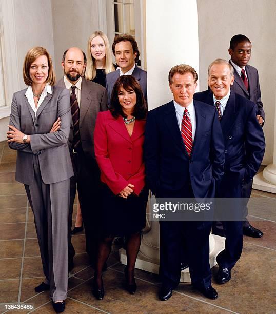 Allison Janney as Claudia Jean 'CJ' Cregg Richard Schiff as Toby Ziegler Janel Moloney as Donne Moss Bradley Whitford as Josh Lyman Stockard Channing...