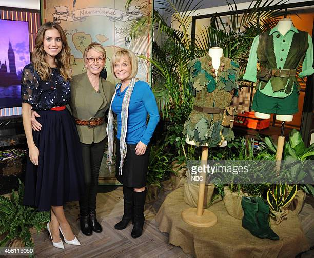 Allison Williams Sandy Duncan and Cathy Rigby appear on the Today show on Thursday October 30 2014