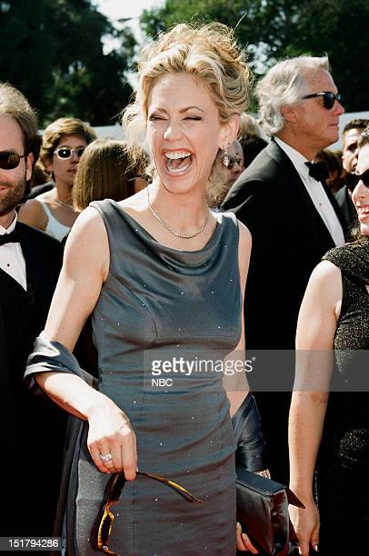 Ally Walker arrives at the 50th Annual Primetime Emmy Awards held at the Shrine Auditorium in Los Angeles CA on September 13 1998