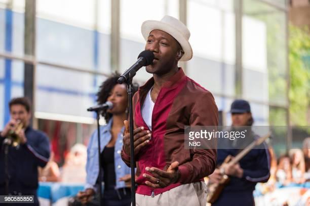 Aloe Blacc on Wednesday June 20 2018