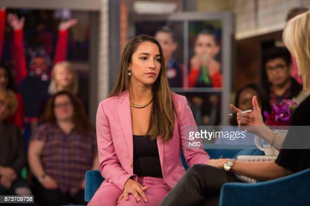Aly Raisman and Megyn Kelly on Monday November 13 2017