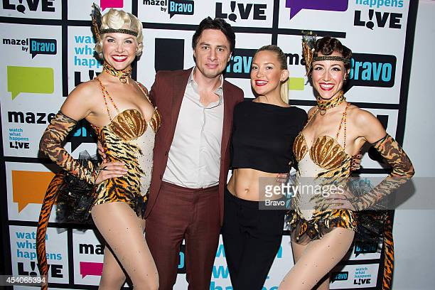 Amanda Kloots Larsen Zach Braff Kate Hudson and Beth Johnson Nicely