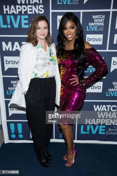 Amber Tamblyn and Porsha Williams