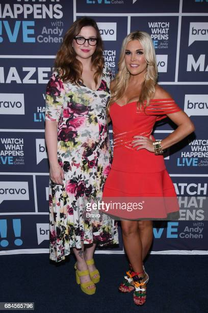 Amber Tamblyn and Tinsley Mortimer