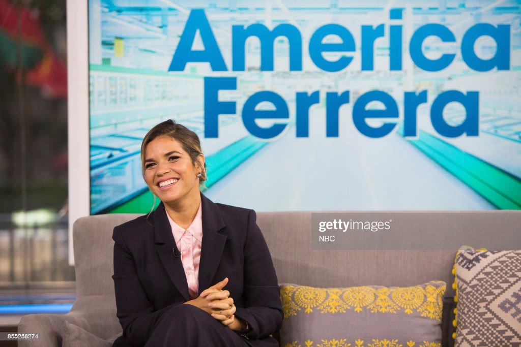 America Ferrera on Thursday, September 28, 2017 --