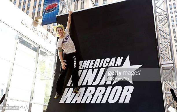 American Ninja Warrior contestant Jamie Rahn appears on NBC News' Today show