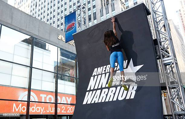 American Ninja Warrior contestant Kacy Catanzaro appears on NBC News' 'Today' show