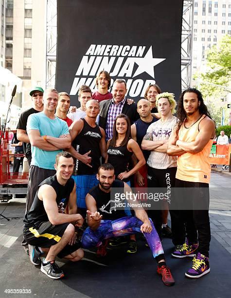 American Ninja Warrior contestants Chris Wilczewski Mike Bernardo Joe Moravsky Brian Wilczewski Brent Steffensen Heriberto Reko Rivera Rob Moravski...