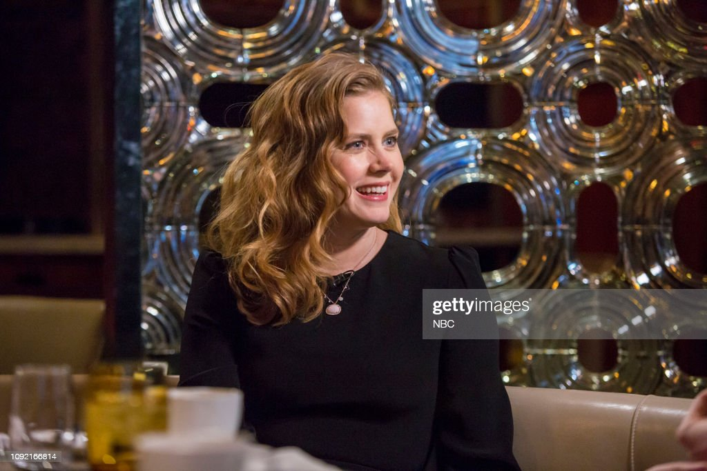 "NY: NBC's ""Sunday TODAY with Willie Geist"" with Amy Adams"