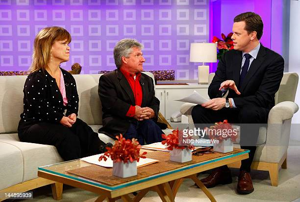 Amy Roloff Matt Roloff and Willie Geist appear on NBC News' 'Today' show