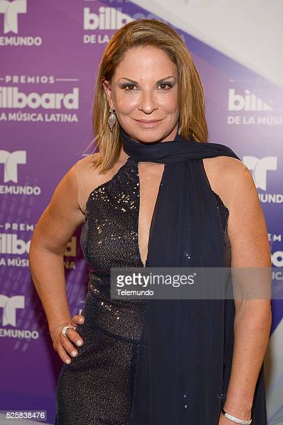 Ana Maria Polo poses backstage during the 2016 Billboard Latin Music Awards at the BankUnited Center in Miami Florida on April 28 2016