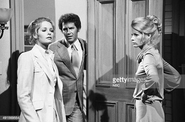 Andrea and Deidre Hall as Samantha Evans and Marlena Evans Jed Allan as Don Craig