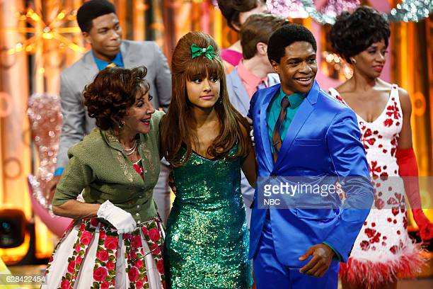 Andrea Martin as Prudy Pingleton Ariana Grande as Penny Pingleton Ephraim Sykes as Seaweed J Stubbs