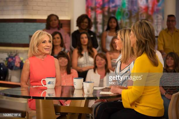 Andrea Mitchell Jenna Bush Hager and Savannah Guthrie on Tuesday July 31 2018