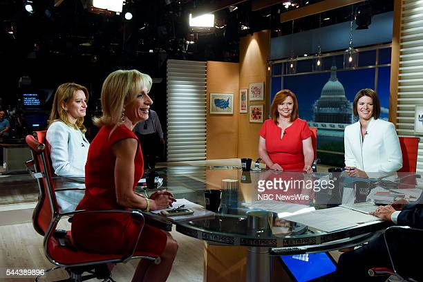 Andrea Mitchell NBC News Chief Foreign Affairs Correspondent Katy Tur NBC News Correspondent Kelly ODonnell NBC News Capitol Hill Correspondent and...