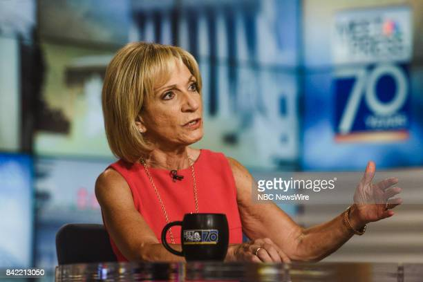 Andrea Mitchell NBC News Chief Foreign Affairs Correspondent appears on Meet the Press in Washington DC Sunday Sept 3 2017