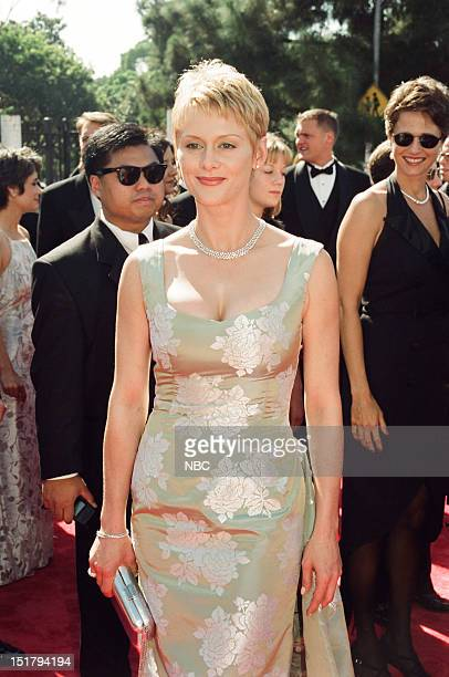 Andrea Thompson arrives at the 50th Annual Primetime Emmy Awards held at the Shrine Auditorium in Los Angeles CA on September 13 1998