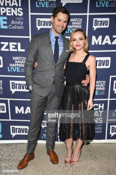 Andrew Rannells and Christina Ricci