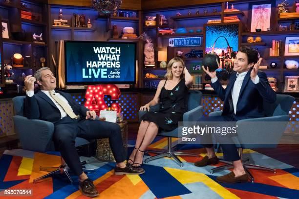 Andy Cohen Abby Elliott and Matt Bomer