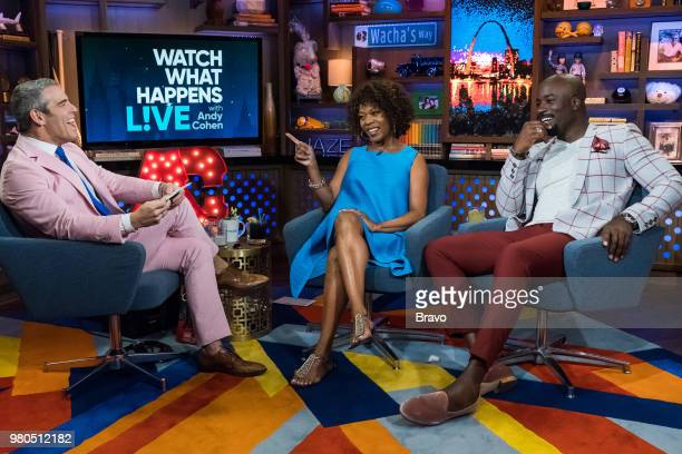 Andy Cohen Alfre Woodard and Mike Colter