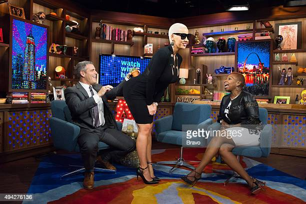 Andy Cohen Amber Rose and Iyanla Vanzant