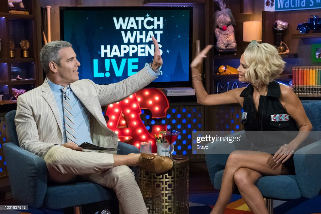 Andy Cohen an dKristin Chenoweth --