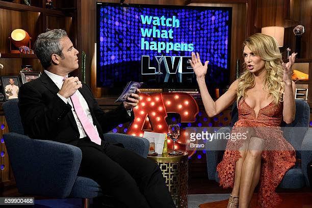 Andy Cohen and Brandi Glanville