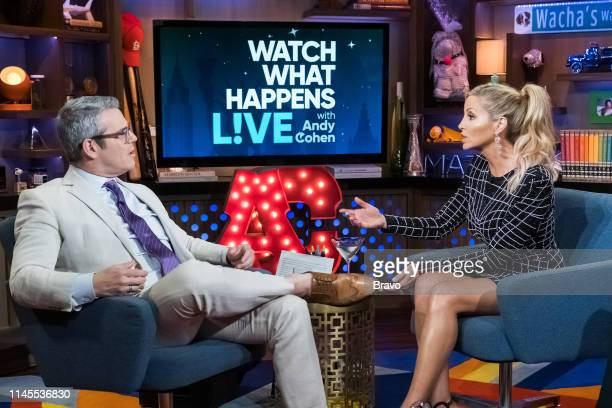 Andy Cohen and Camille Grammer