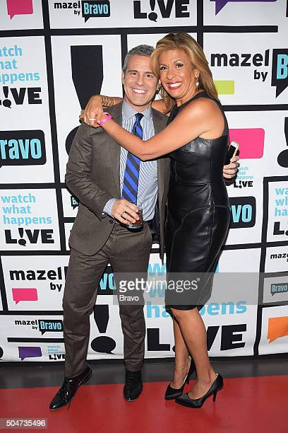 Andy Cohen and Hoda Kotb