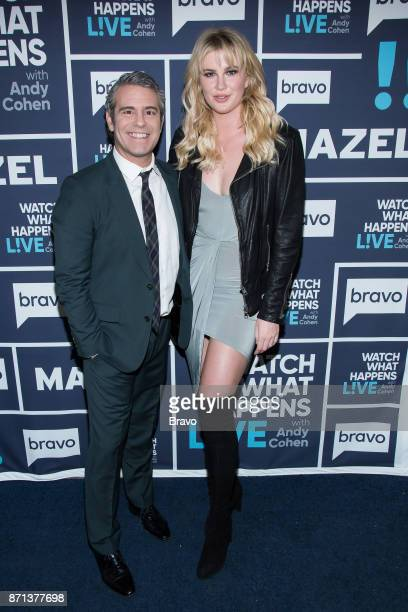 Andy Cohen and Ireland Baldwin