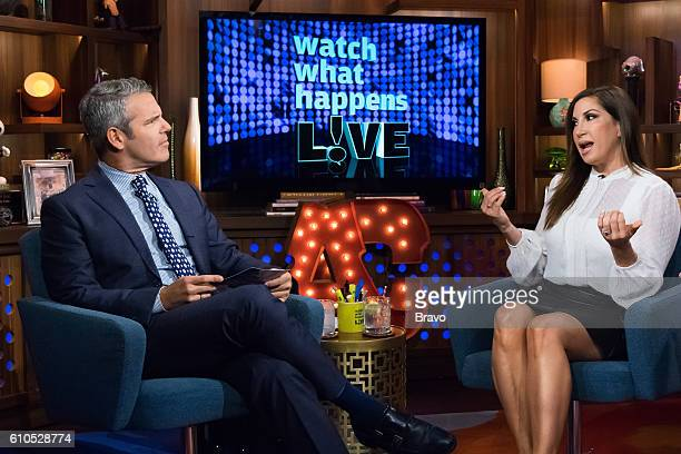 Andy Cohen and Jacqueline Laurita