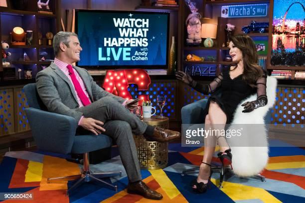 Andy Cohen and Lisa Vanderpump