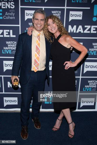 Andy Cohen and Liza Persky